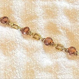 Beautiful amethyst and 10K white gold bracelet!!